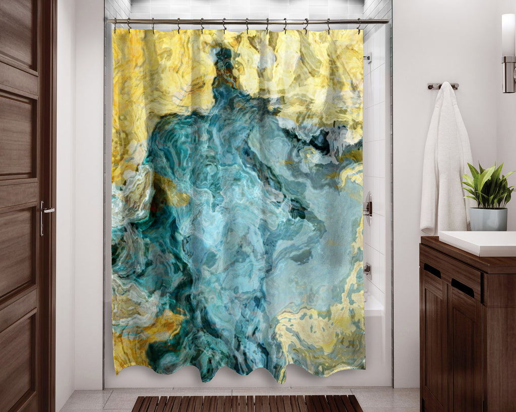 Shower Curtain, Beach Time