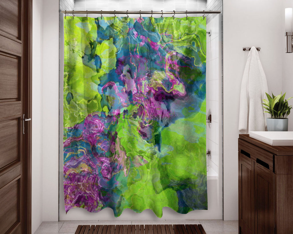 Shower Curtain, Beautyberry