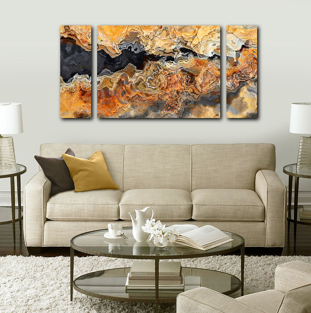 Canvas Print, 30x60 to 40x78, Black Canyon