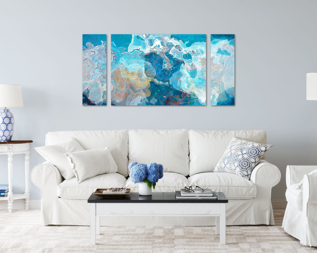 Canvas Print, 30x60 to 40x78, Blue Hour
