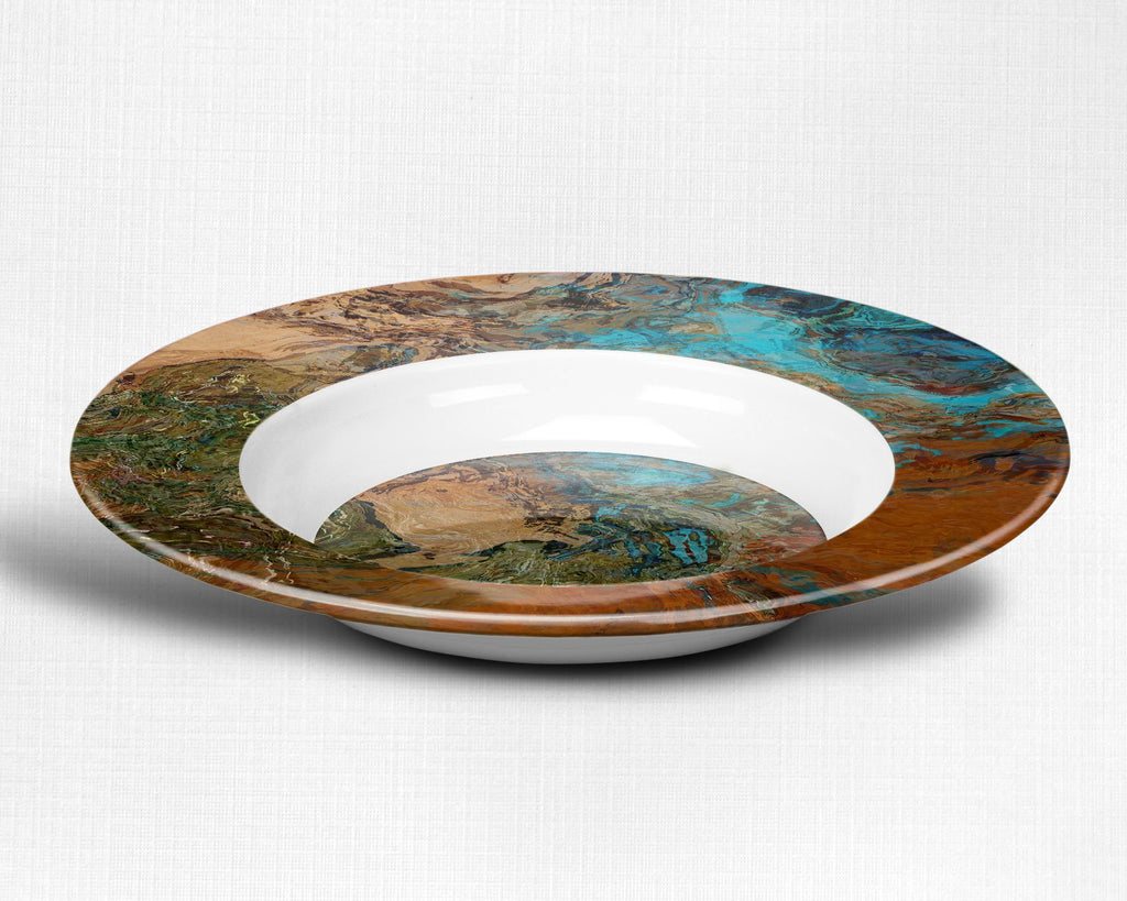Plate or Bowl, Canyon Sunset