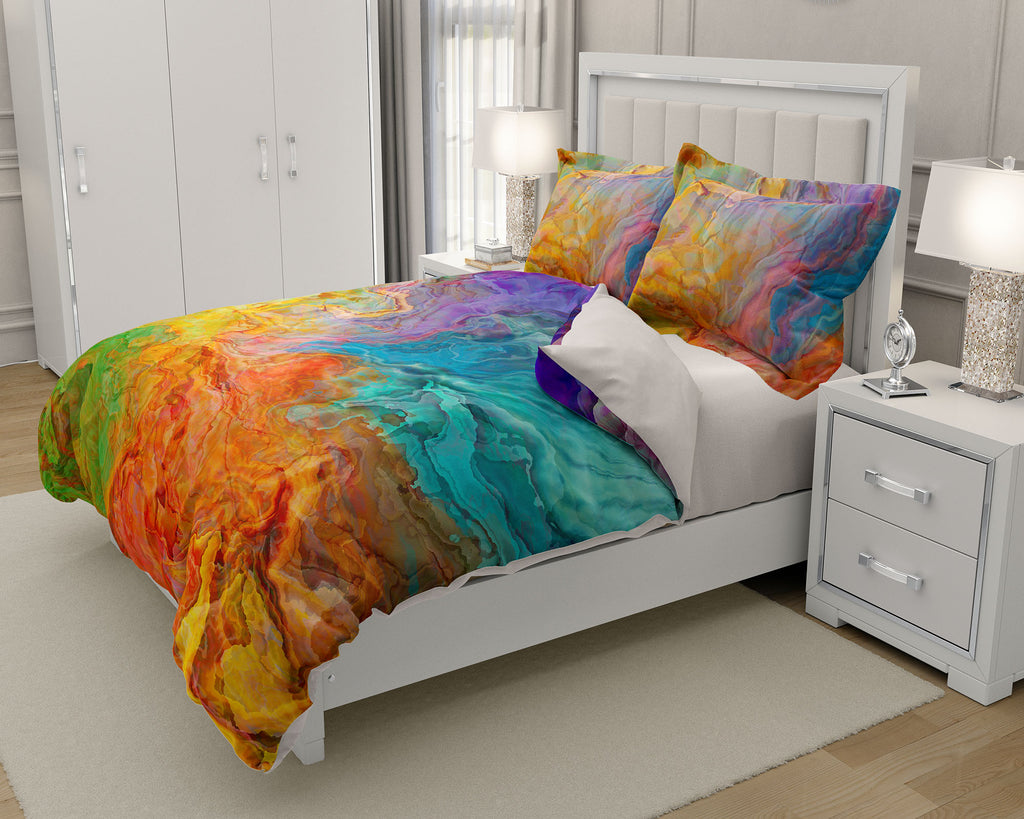 King or Queen Duvet Cover, Carnival