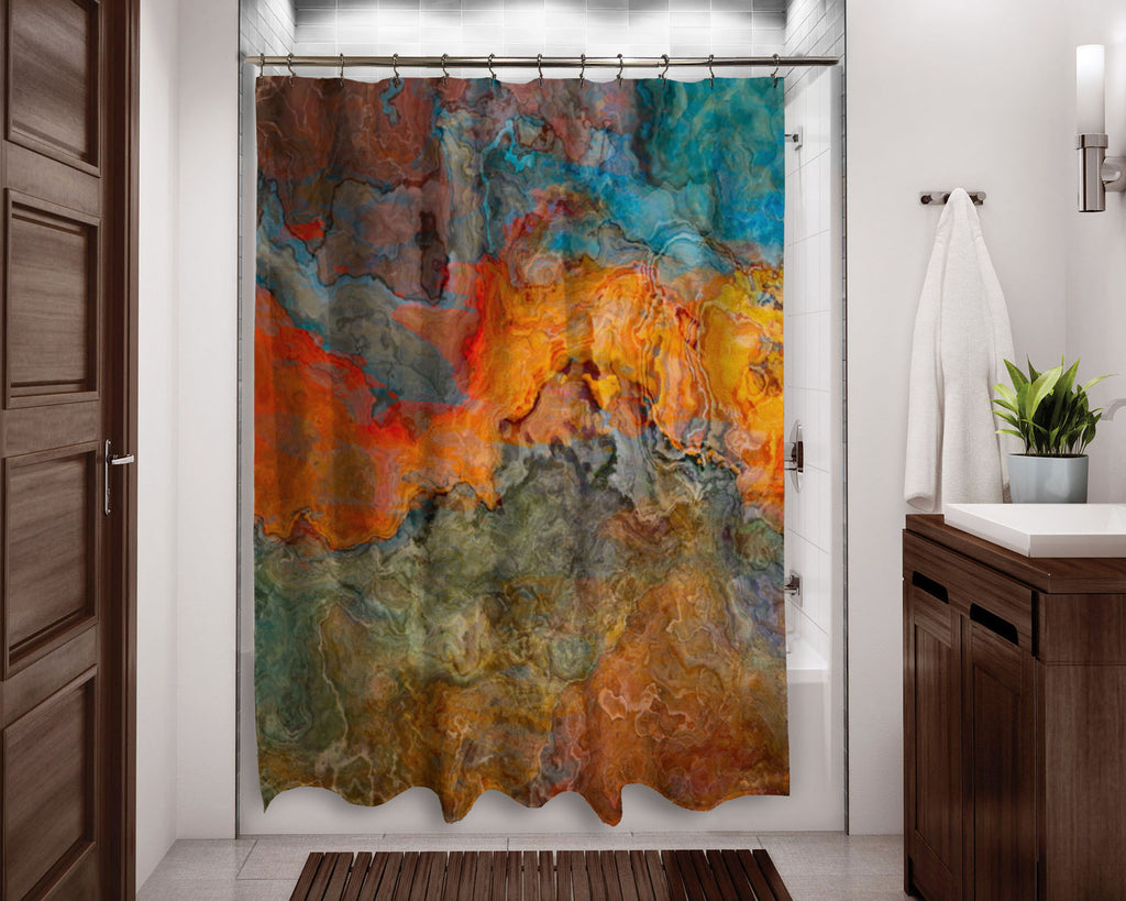 Shower Curtain, Copper River