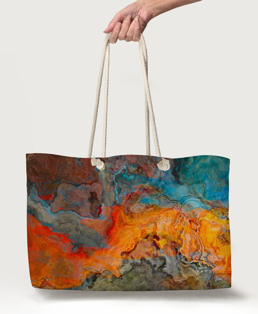 Oversized Tote, Copper River