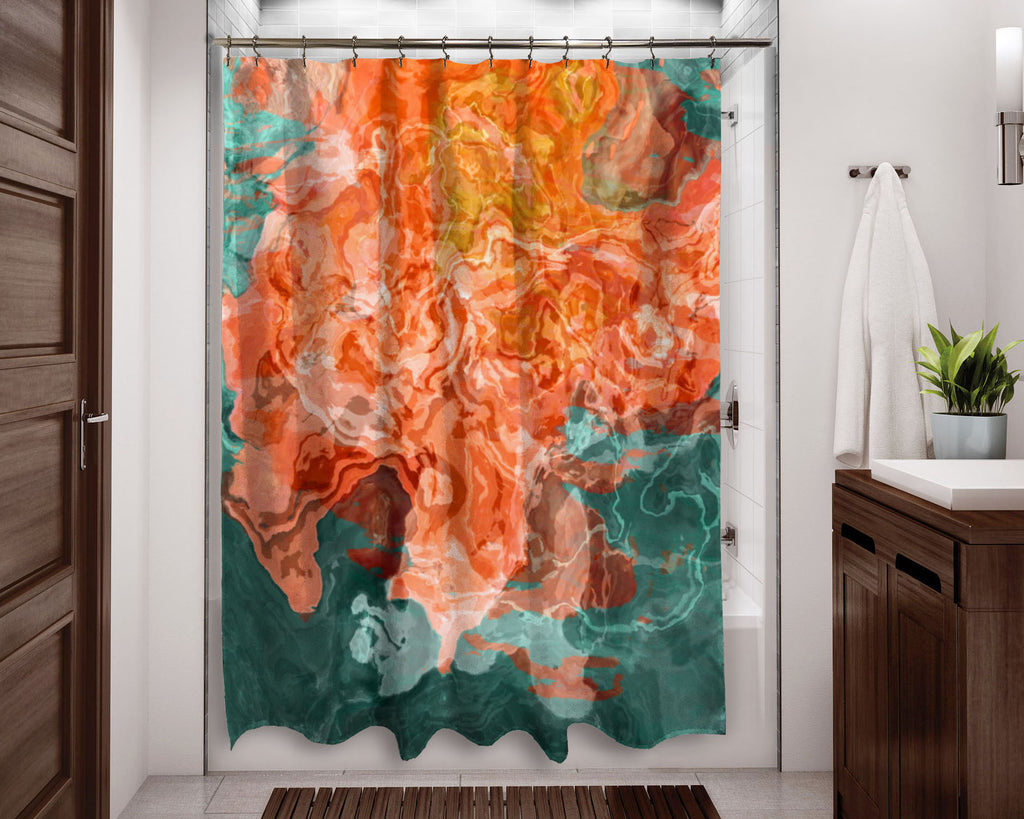 Shower Curtain, Coral Reef