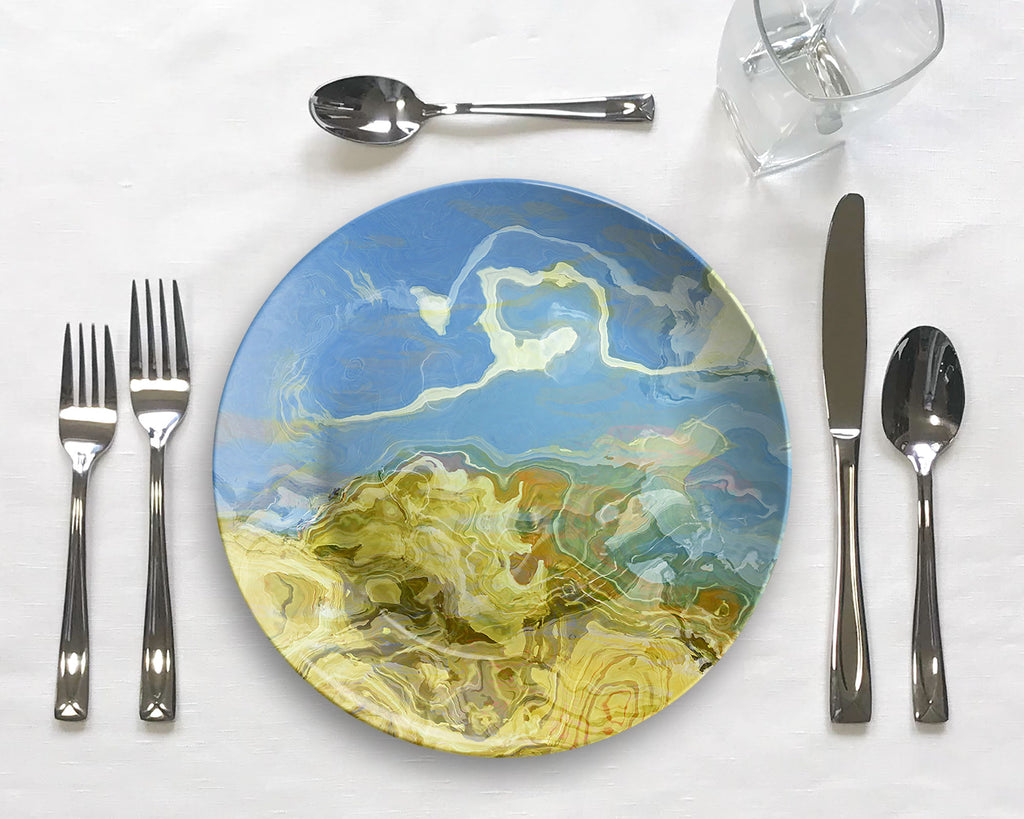 Plate or Bowl, Dune Scape