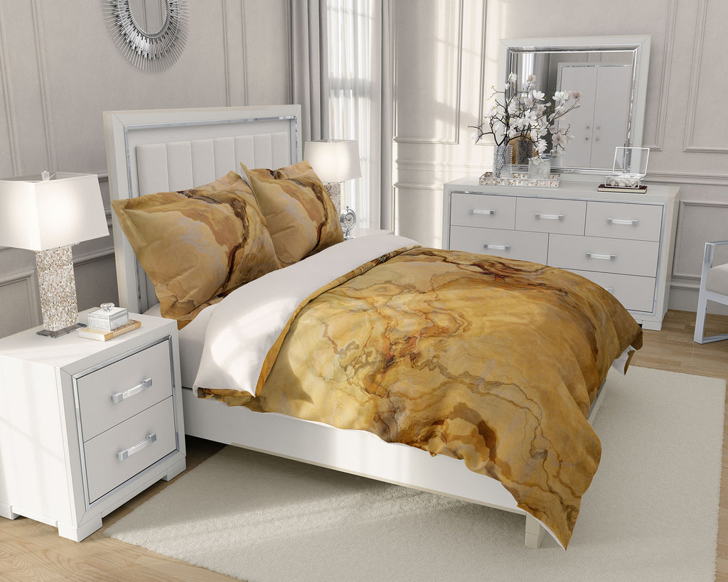 King or Queen Duvet Cover, Earthbound