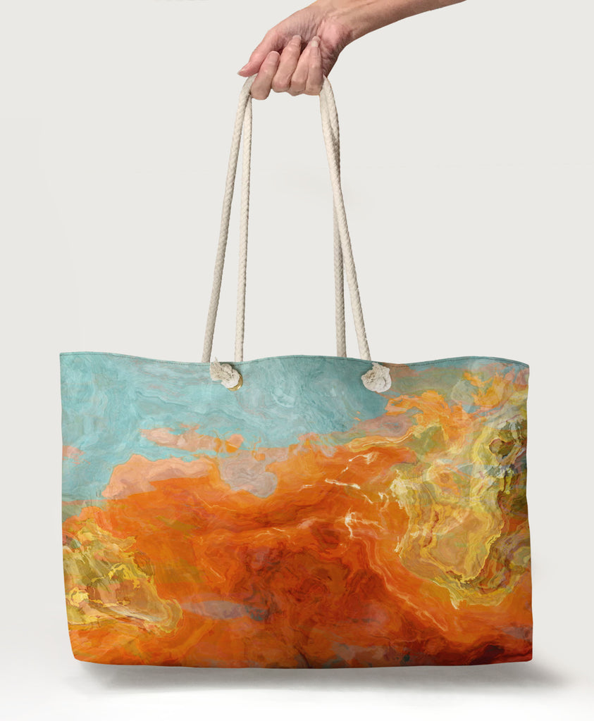 Oversized Tote, Electric