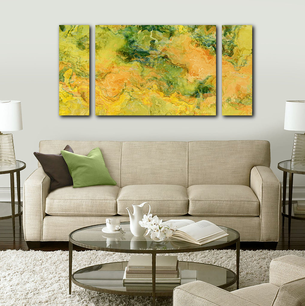 Canvas Print, 30x60 to 40x78, Galactic Peach
