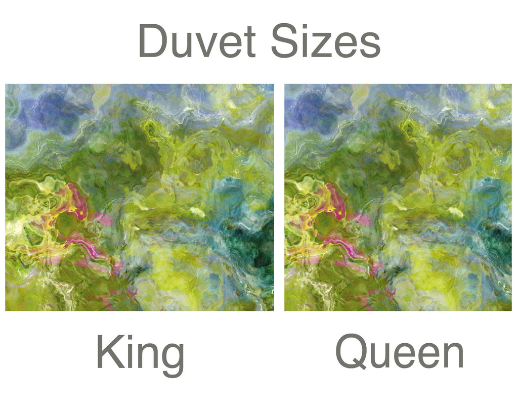King or Queen Duvet Cover, Garden Party