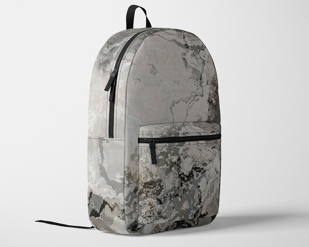 Abstract Art Backpack with Adjustable Ergonomic Padded Shoulder Straps