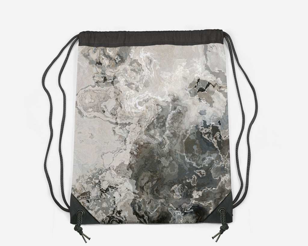 Drawstring Sling Bag, Geologic