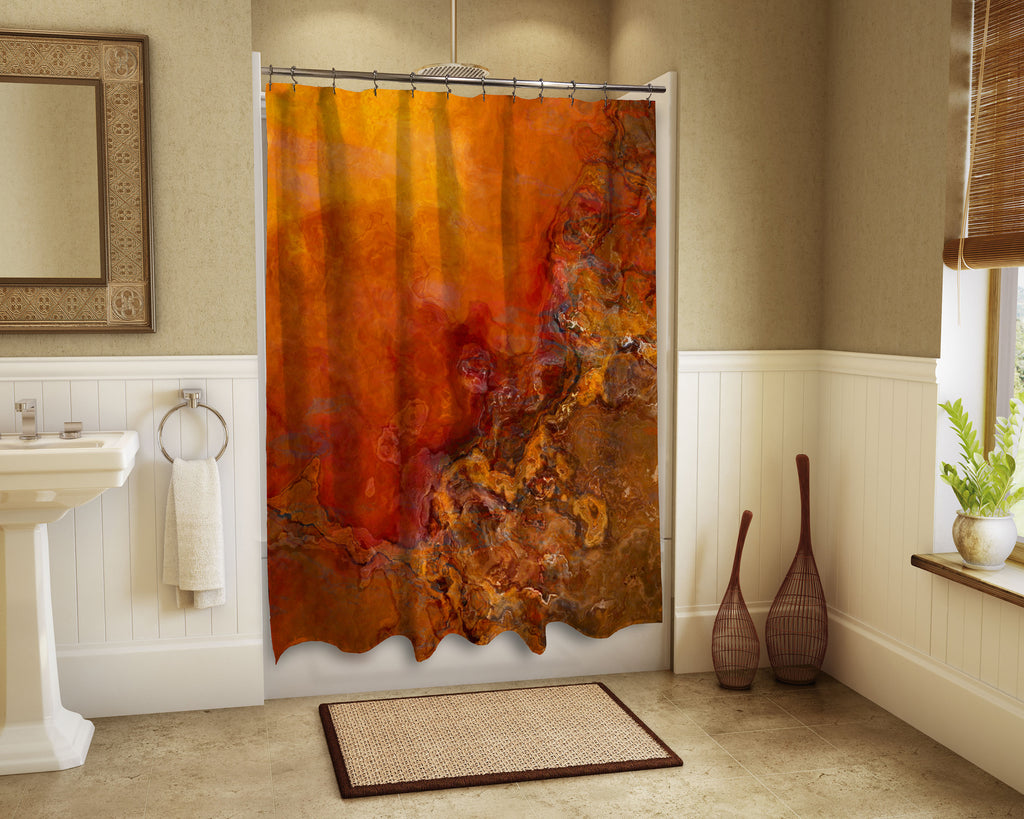 Shower Curtain, Gold Rush