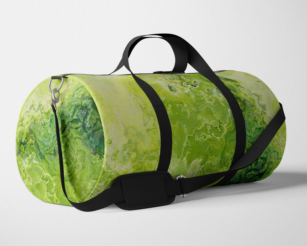 Duffle Bag, Green Daze
