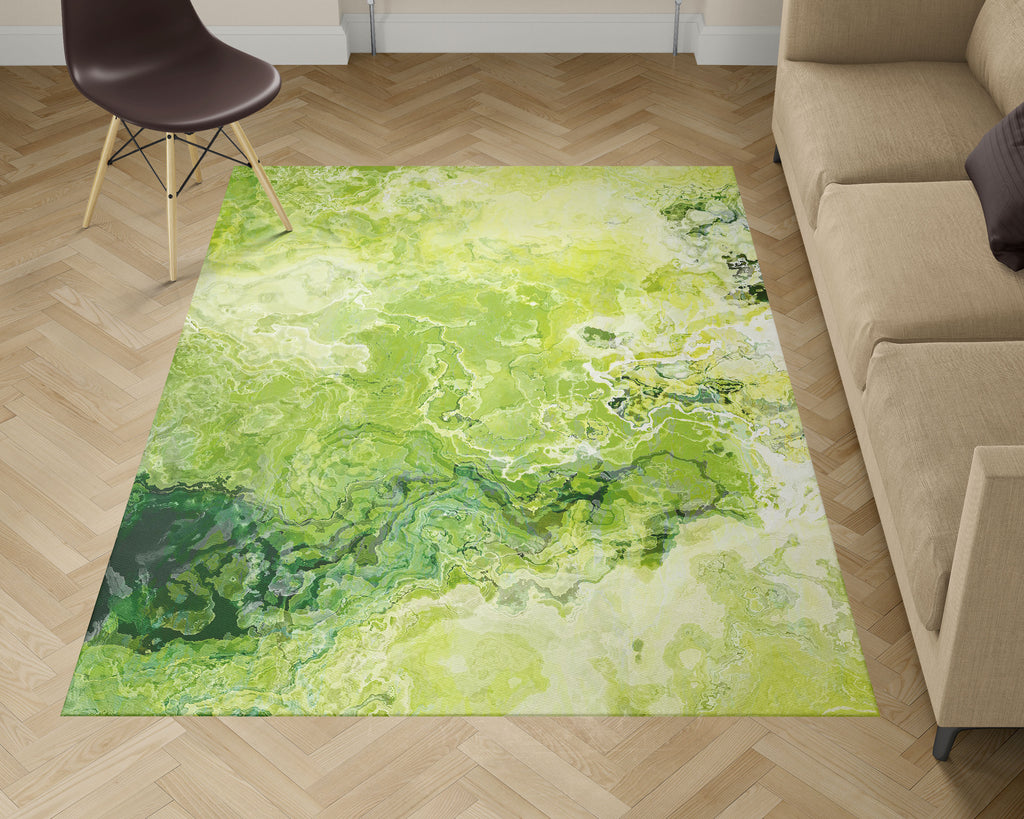 Area Rug, Green Daze