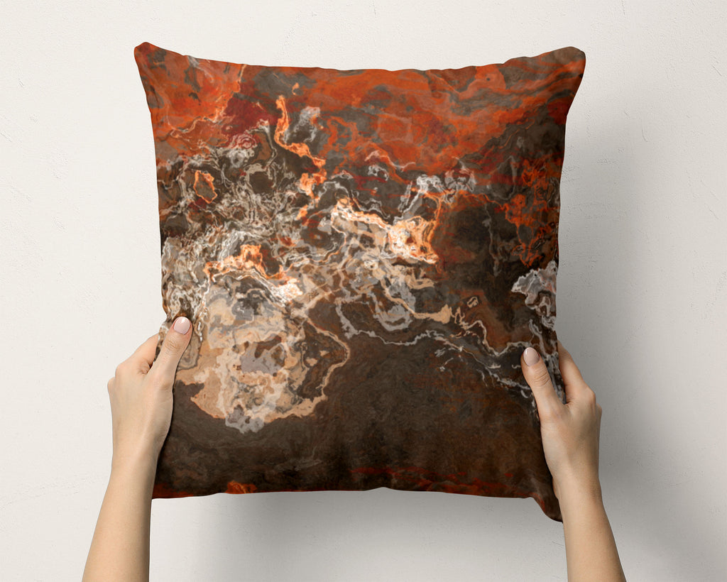 Pillow Covers, Hammered Copper