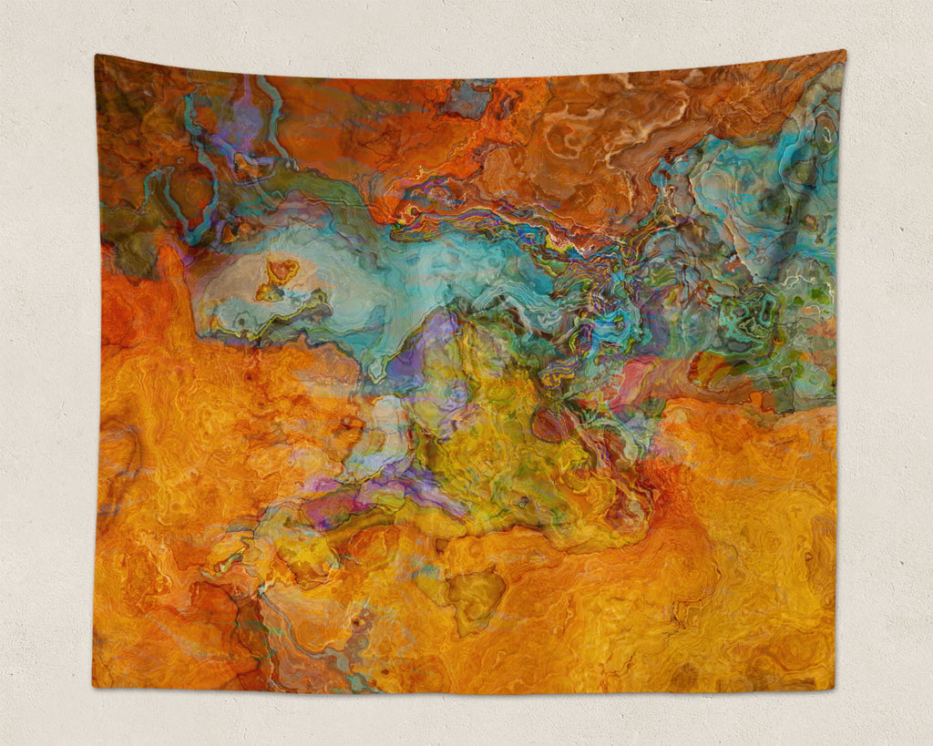 Abstract Art large modern southwestern wall hanging