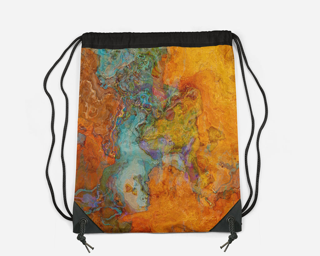 Drawstring Sling Bag, High Desert