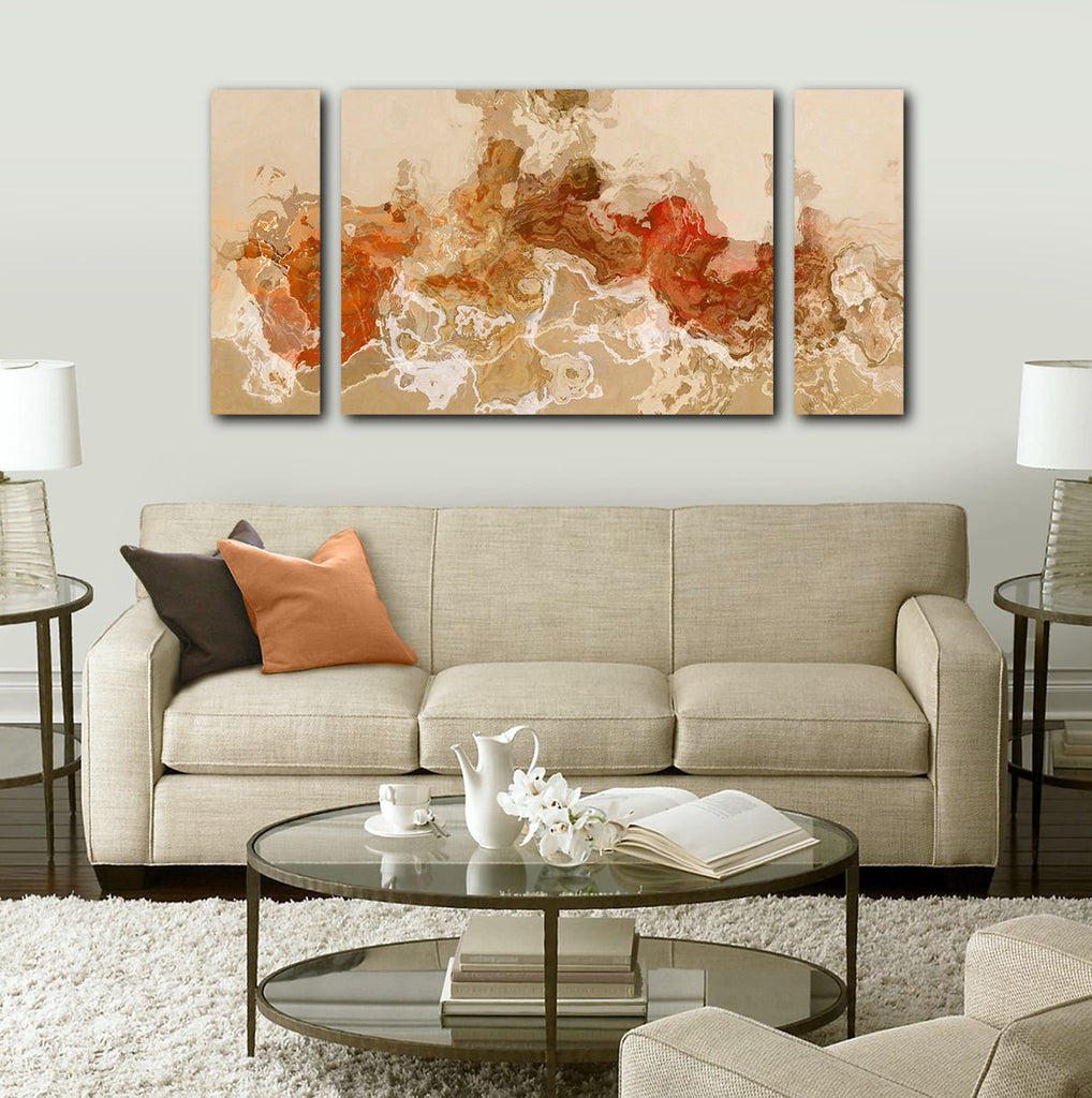 Large Abstract Art Canvas Print