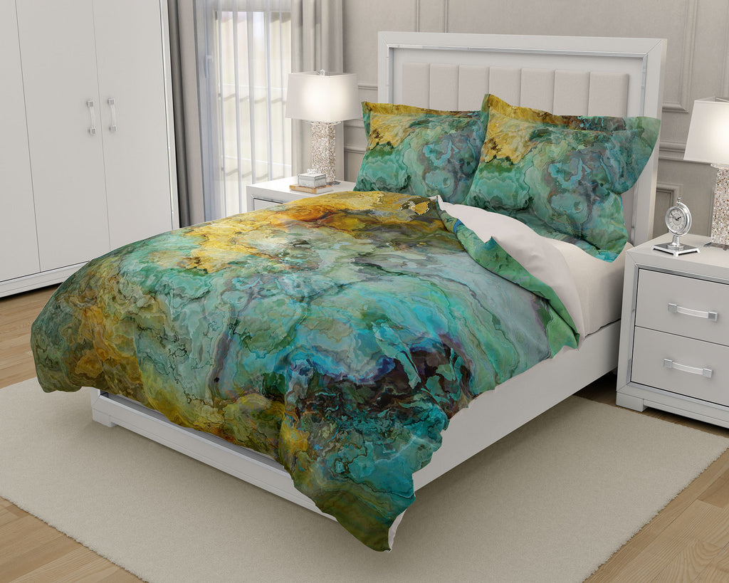 King or Queen Duvet Cover, Kinetic