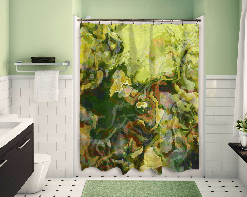 Shower Curtain, Lemon Tree