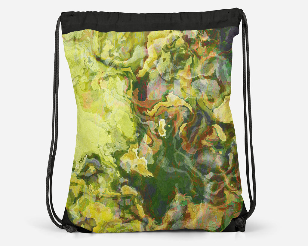 Drawstring Sling Bag, LemonTree