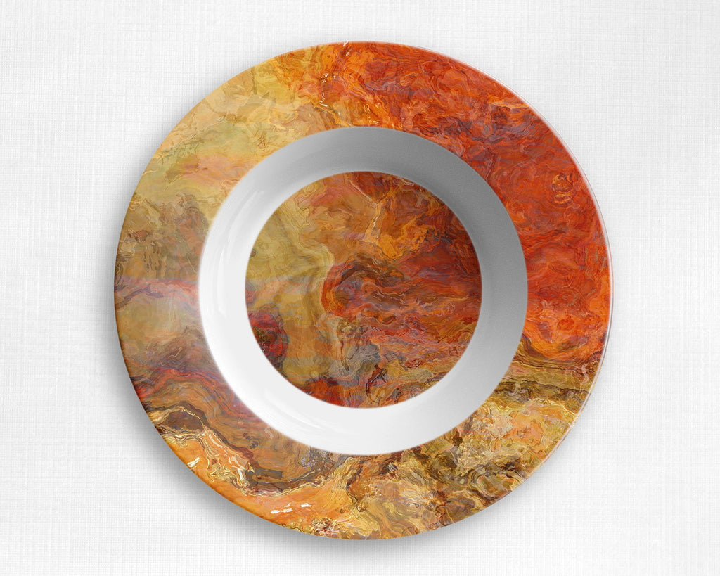 Plate or Bowl, Magma