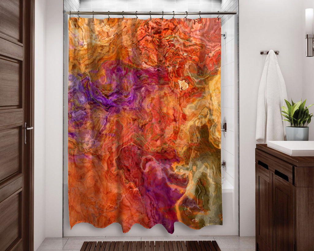 Shower Curtain, Mediterranean