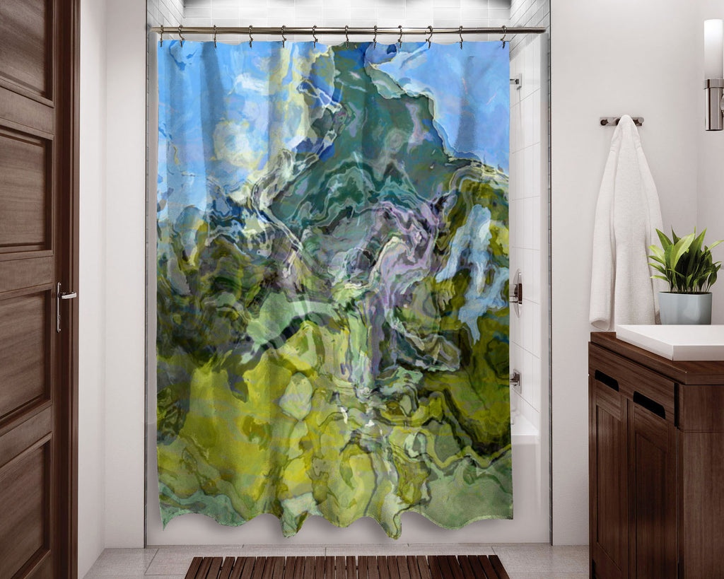 Shower Curtain, Mountain View