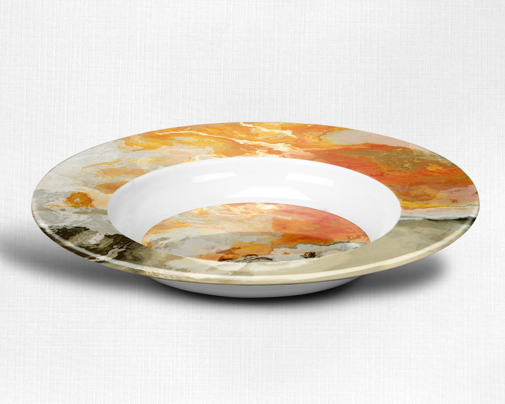 Plate or Bowl, Rhymes with Orange