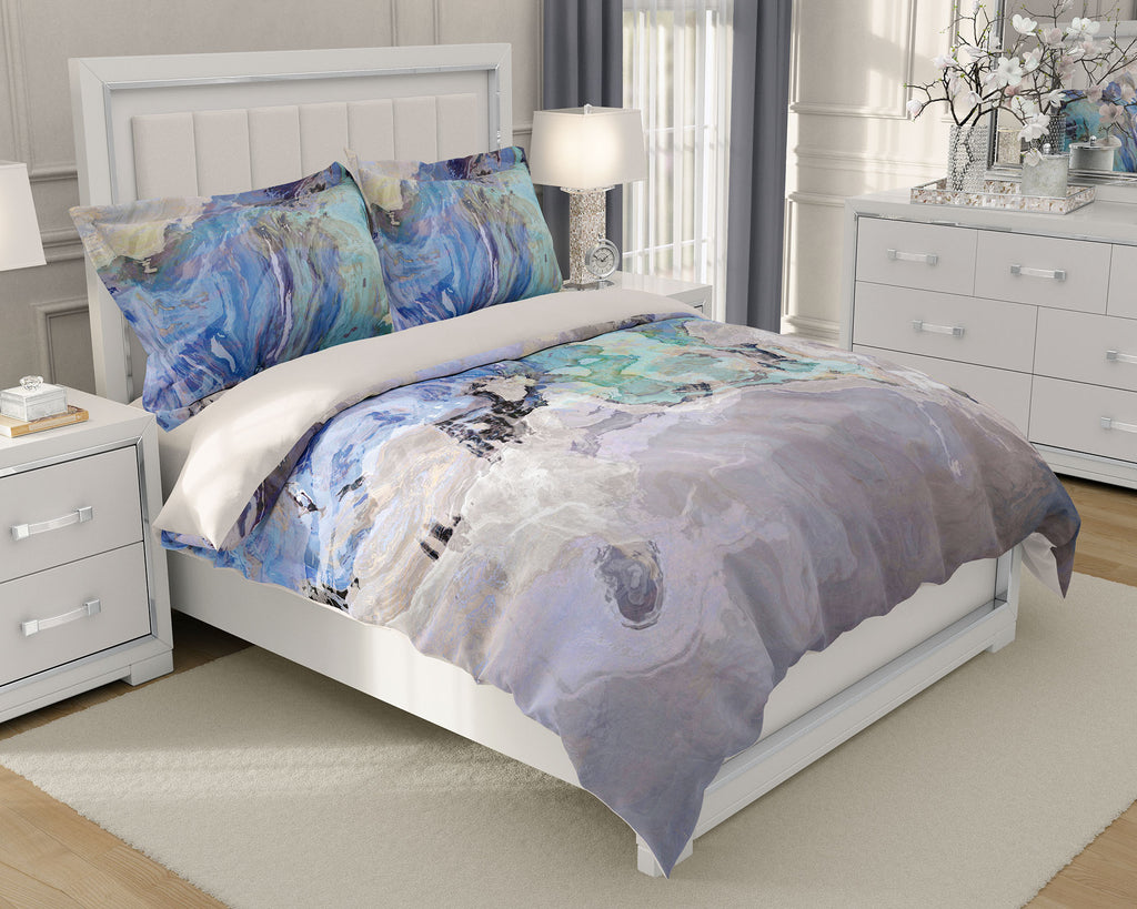 King or Queen Duvet Cover, Out of the Blue