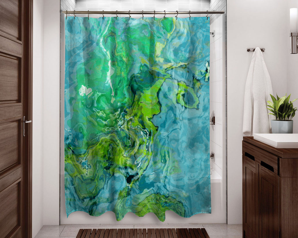 Shower Curtain, Poolside