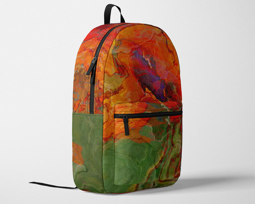 Backpack, Poppies
