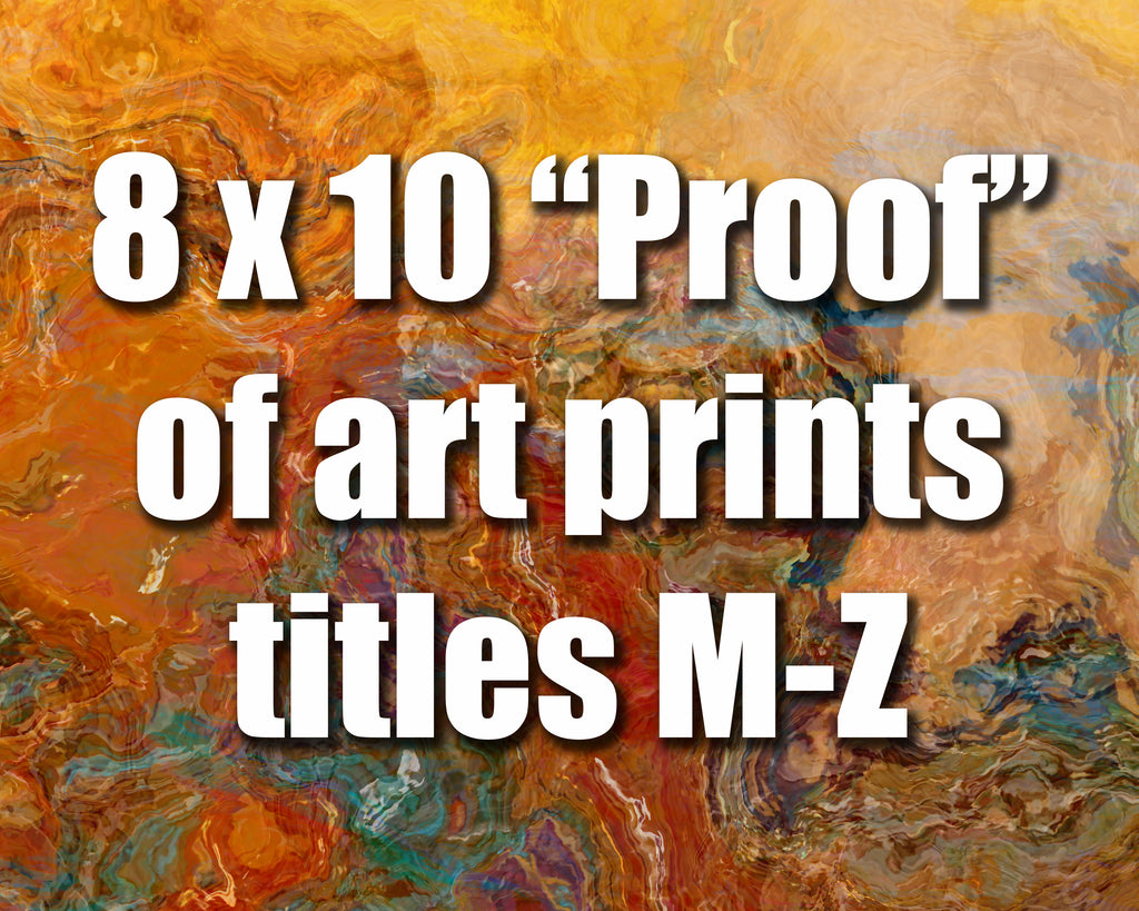 8x10 Color Proof M-Z