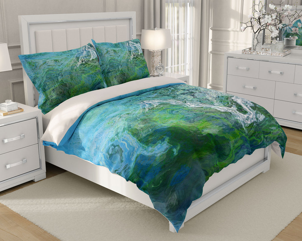 King or Queen Duvet Cover, Rising