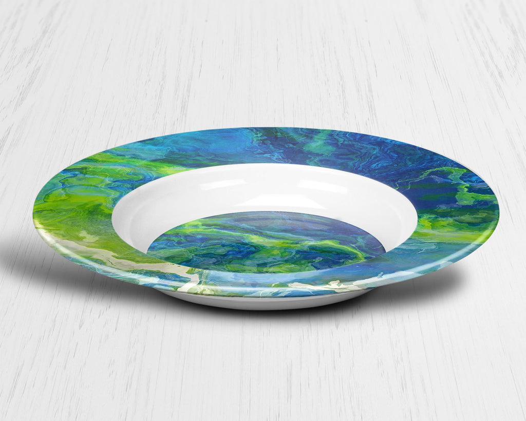 Plate or Bowl, River Dream
