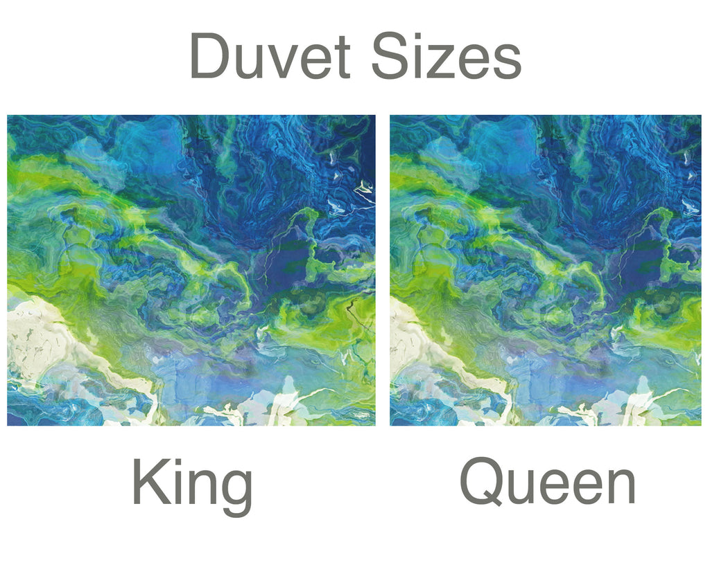 King or Queen Duvet Cover, River Dream