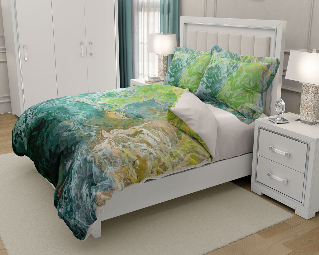 King or Queen Duvet Cover, Sea Coast