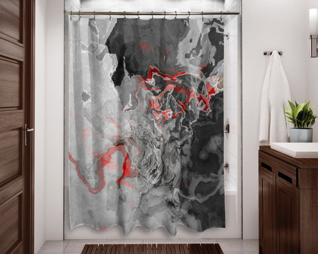 Shower Curtain, Shadow Land