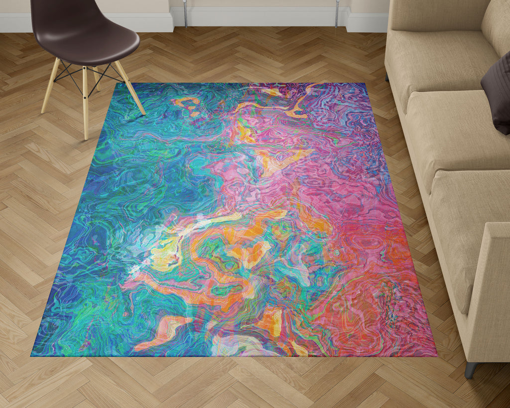Area Rug, Summer Sunrise