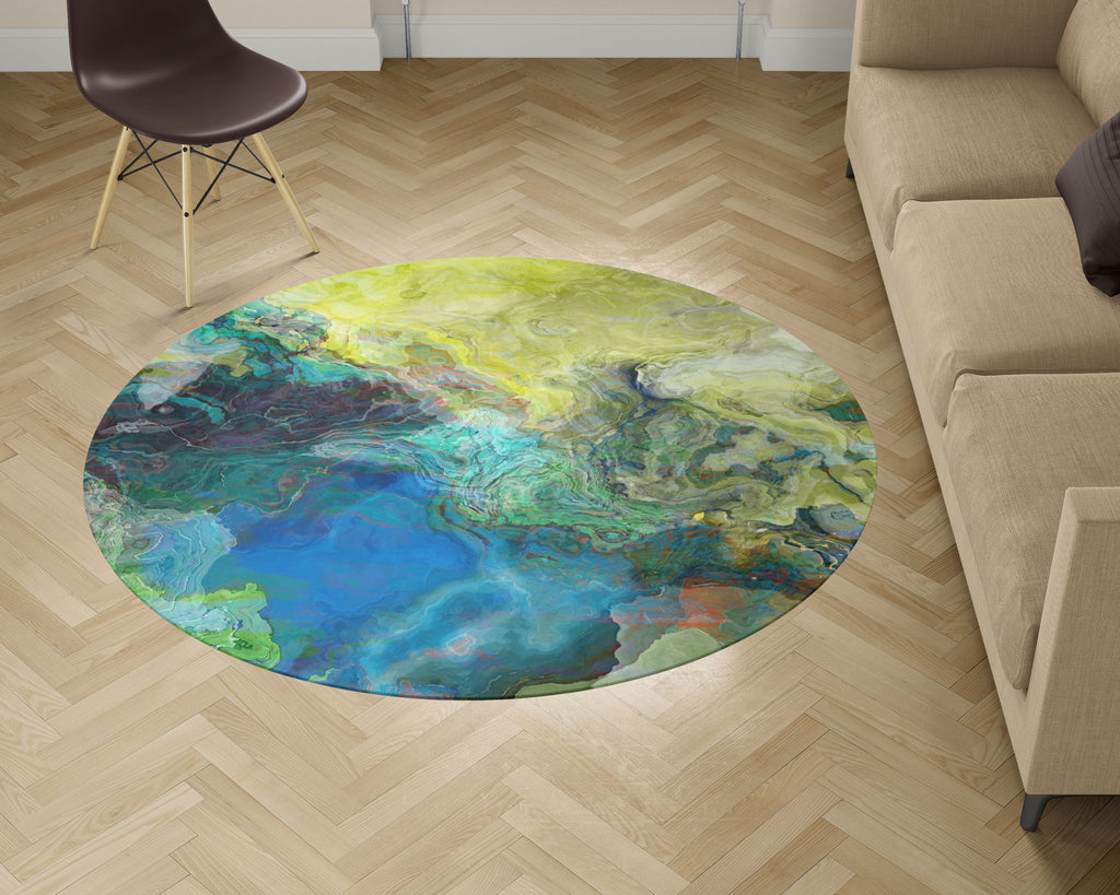 Area Rug, Swimmer