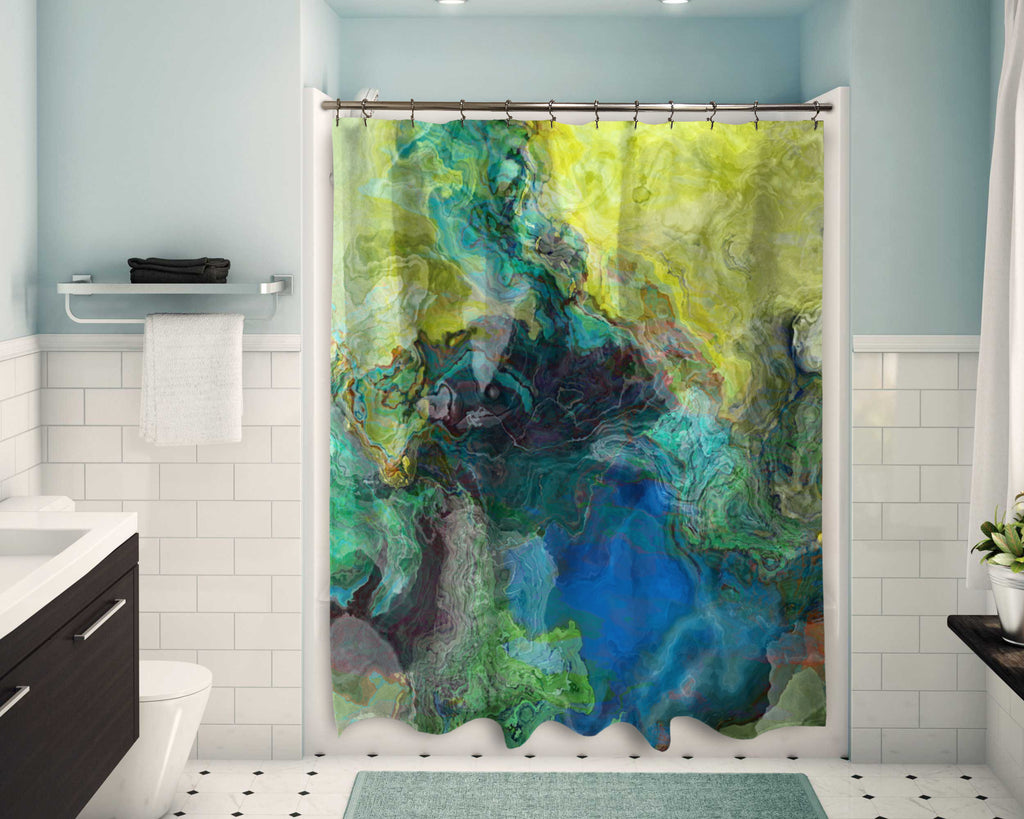 Shower Curtain, Swimmer