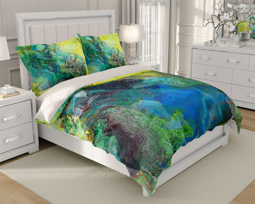 King or Queen Duvet Cover, Swimmer