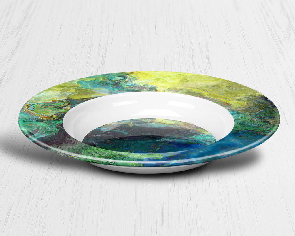 Plate or Bowl, Swimmer