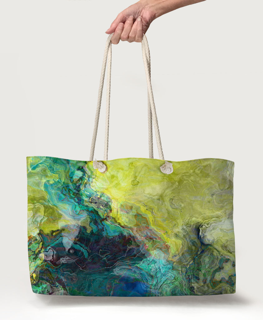 Oversized Tote, Swimmer