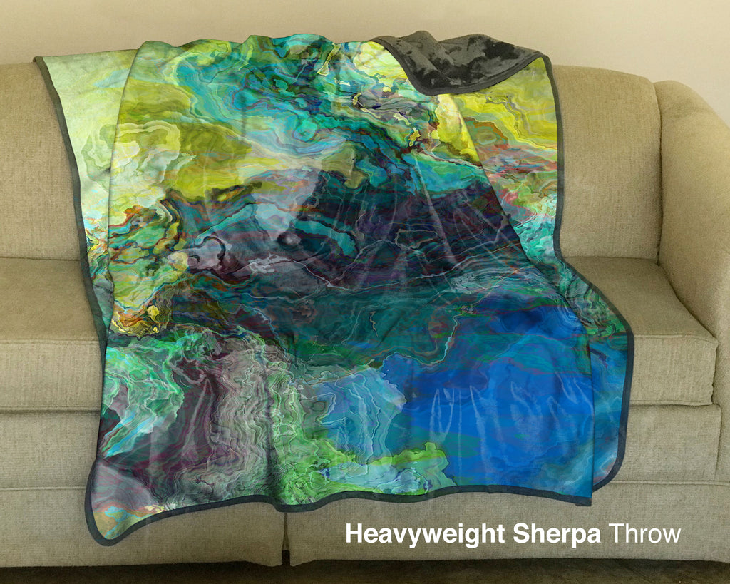 Fleece Throw, Swimmer