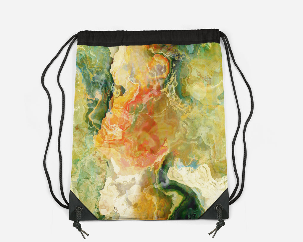 Drawstring Sling Bag, Take Flight