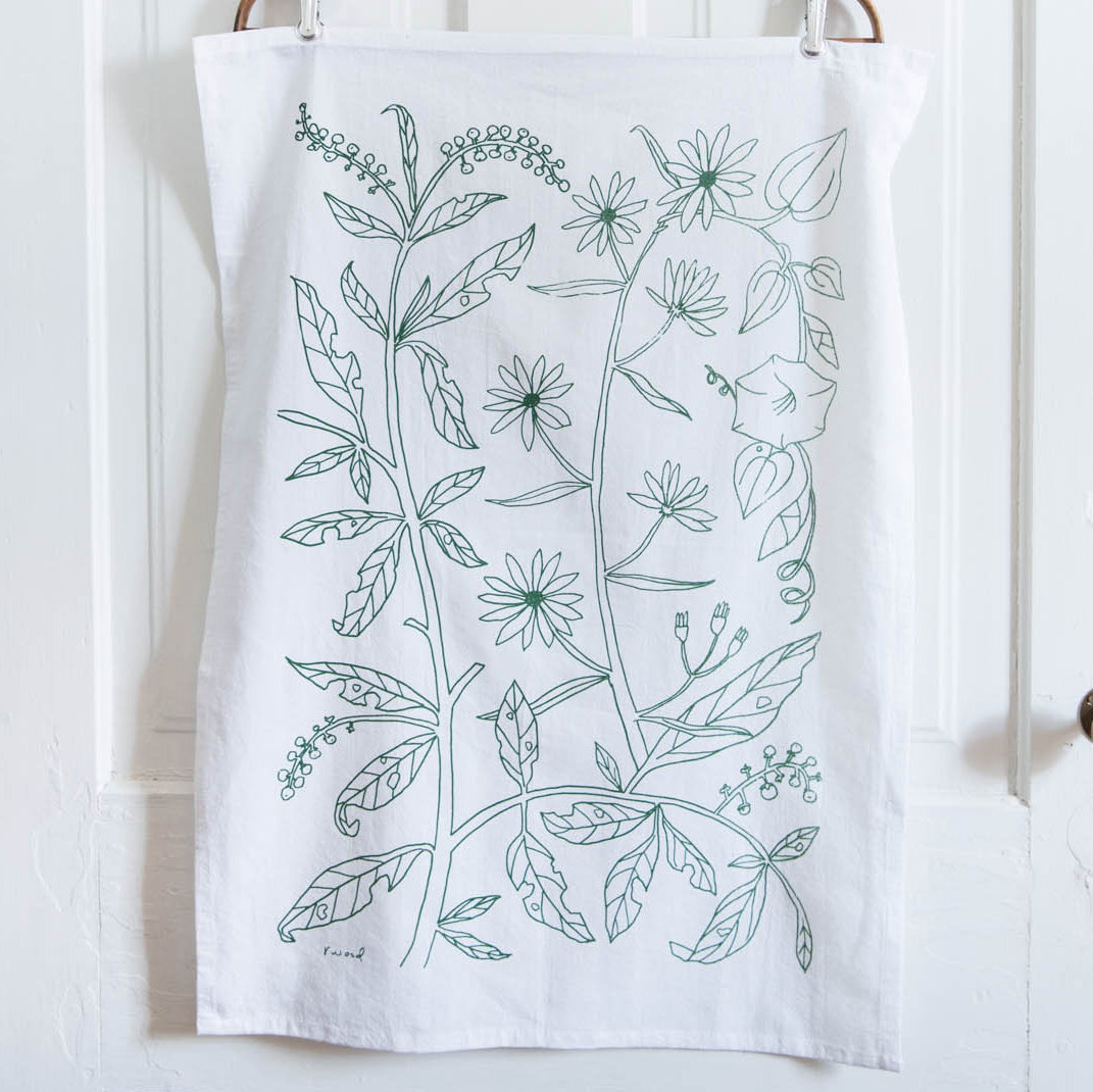 R.Wood Tea Towel