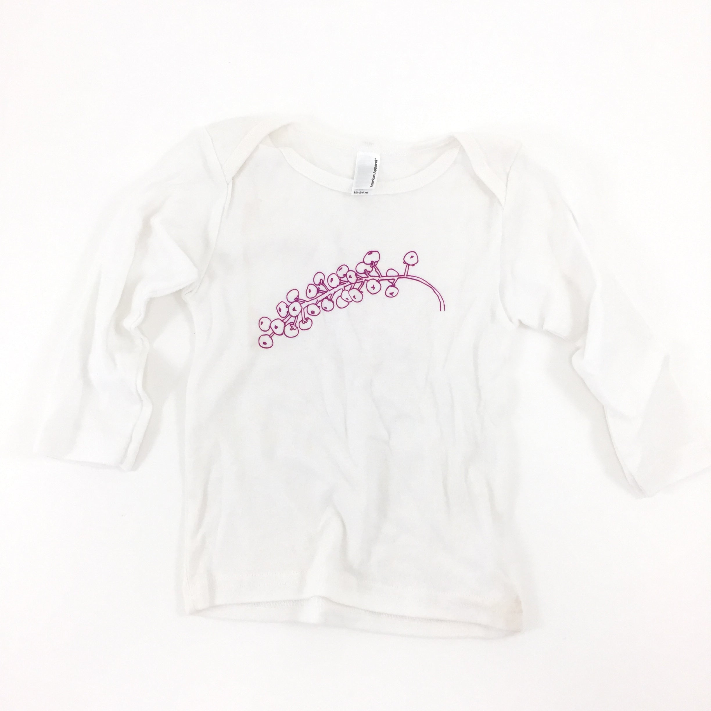 Baby Tee // Long Sleeve Large