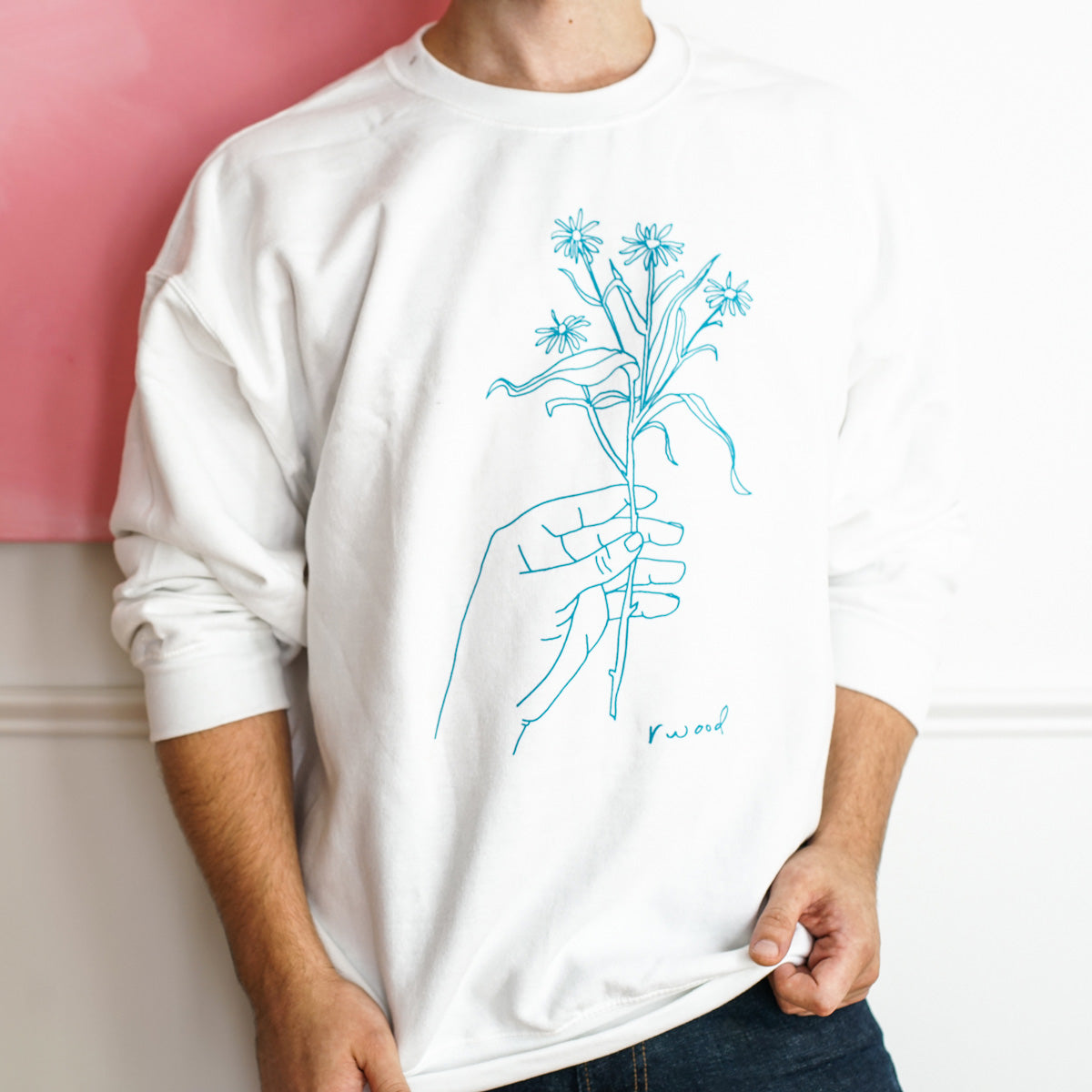 Line Drawn Sweatshirt